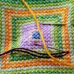 Online eintauchen in die Welt der bestickten Textilien